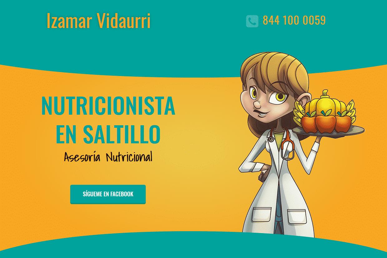 Nutricionista Izamar Vidaurri